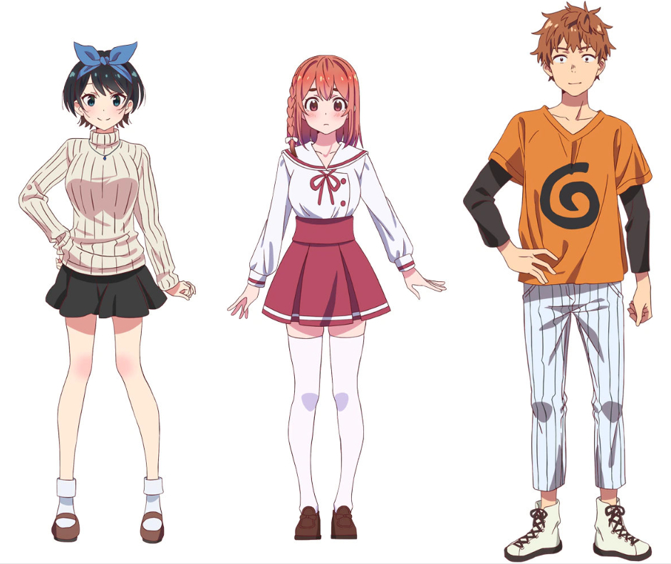 神仙阵容的动漫 租借女友 声优阵容豪华,将于2020年7月开始播出