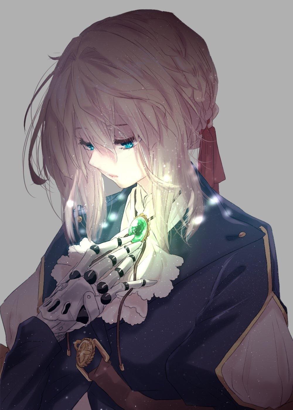 【P站美图】紫罗兰永恒花园壁纸特辑