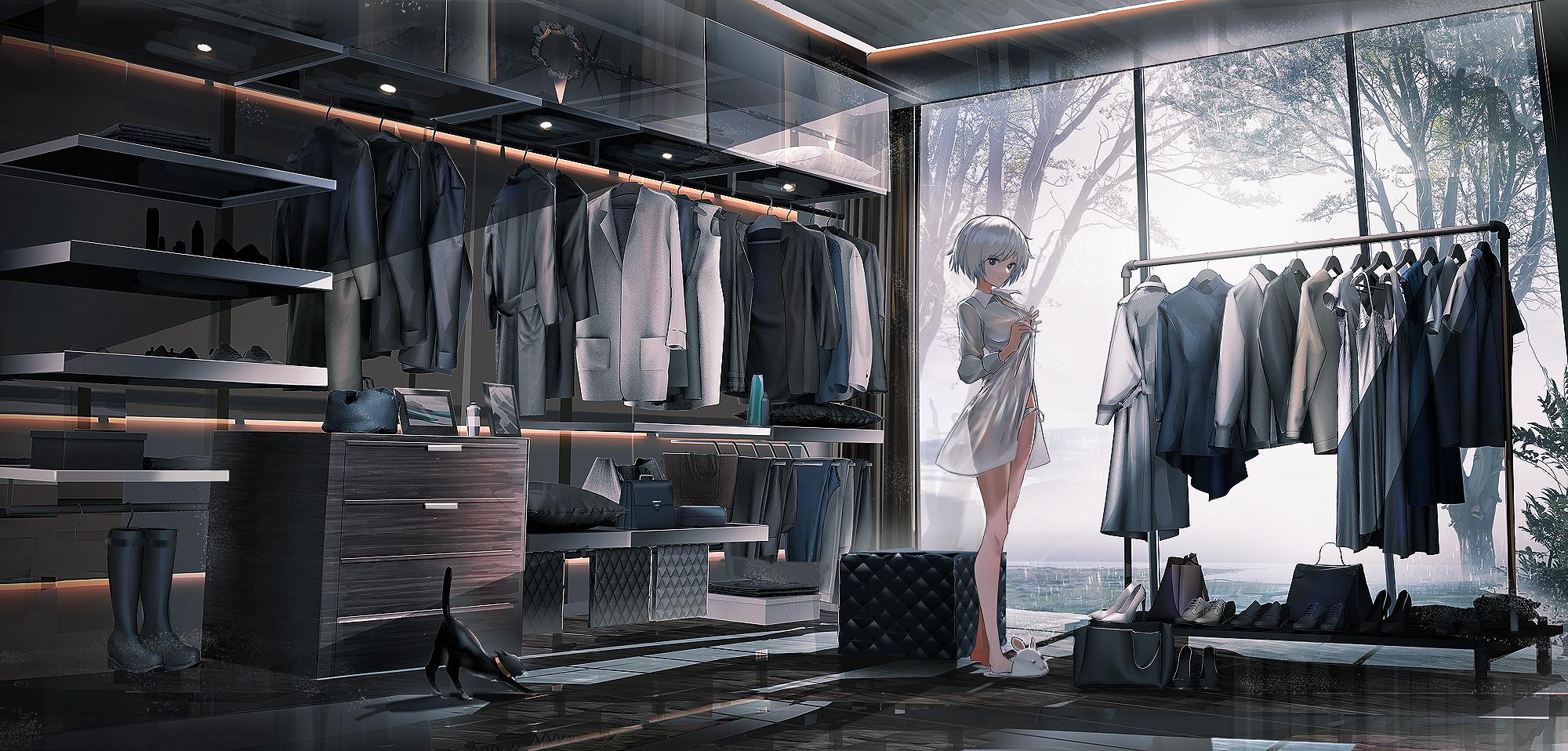 【P站画师】帅气的少女们!日本画师SWAV的插画作品- ACG17.COM