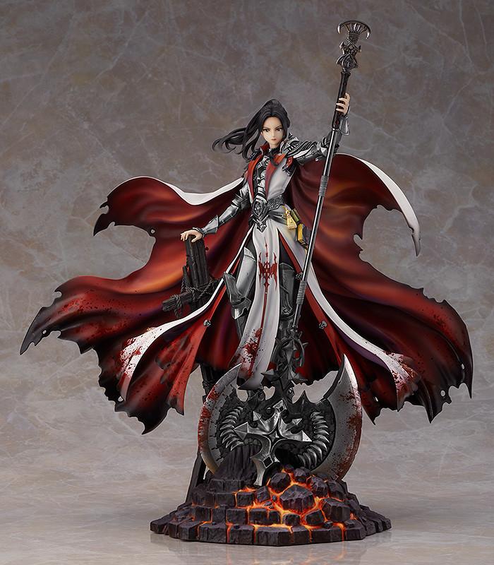 【手办模型】GSC《地下城与勇士》女圣职者 炎狱裁决者1/8比例手办详情