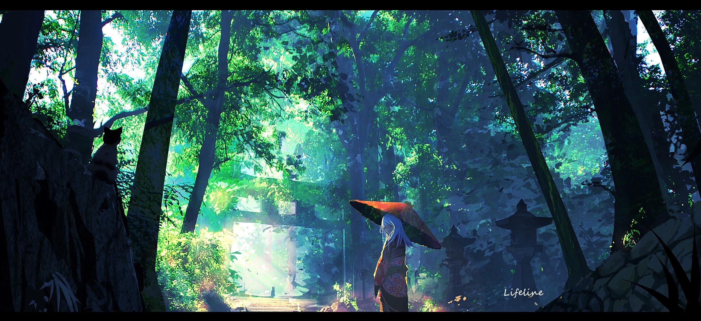 【P站画师】光与影的交织!中国画师Lifeline的插画作品- ACG17.COM