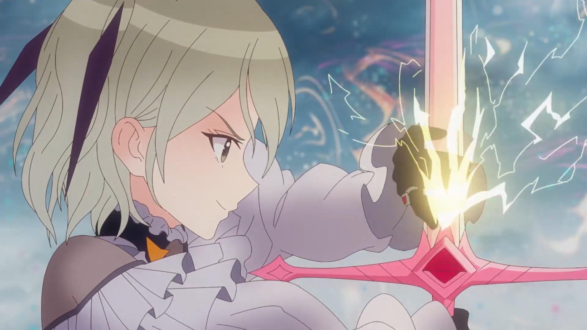 【动漫情报】TV动画《BLUE REFLECTION RAY/澪》正式PV公开,4月9日正式开播。