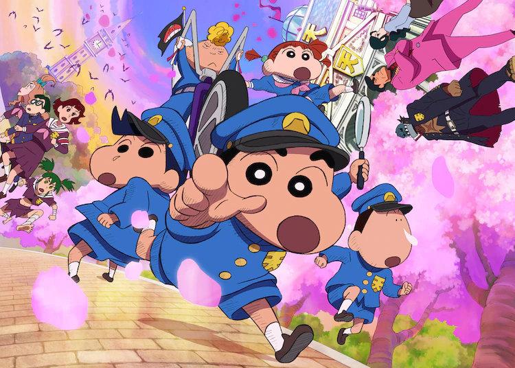 受疫情影响,动画电影《蜡笔小新 谜题!花之天卡斯学园》宣布延期上映 ,动漫文章