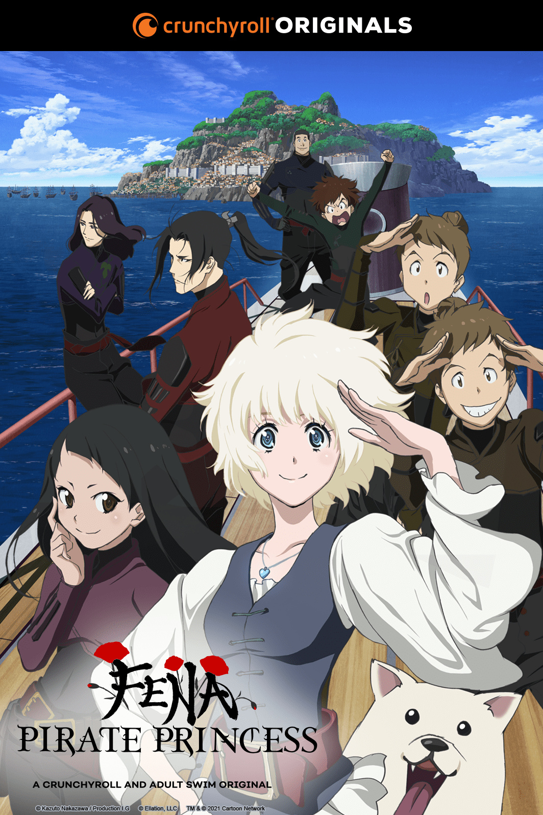 TV动画《海贼王女》第3弹PV公开,2021年10月开播- 布丁次元社
