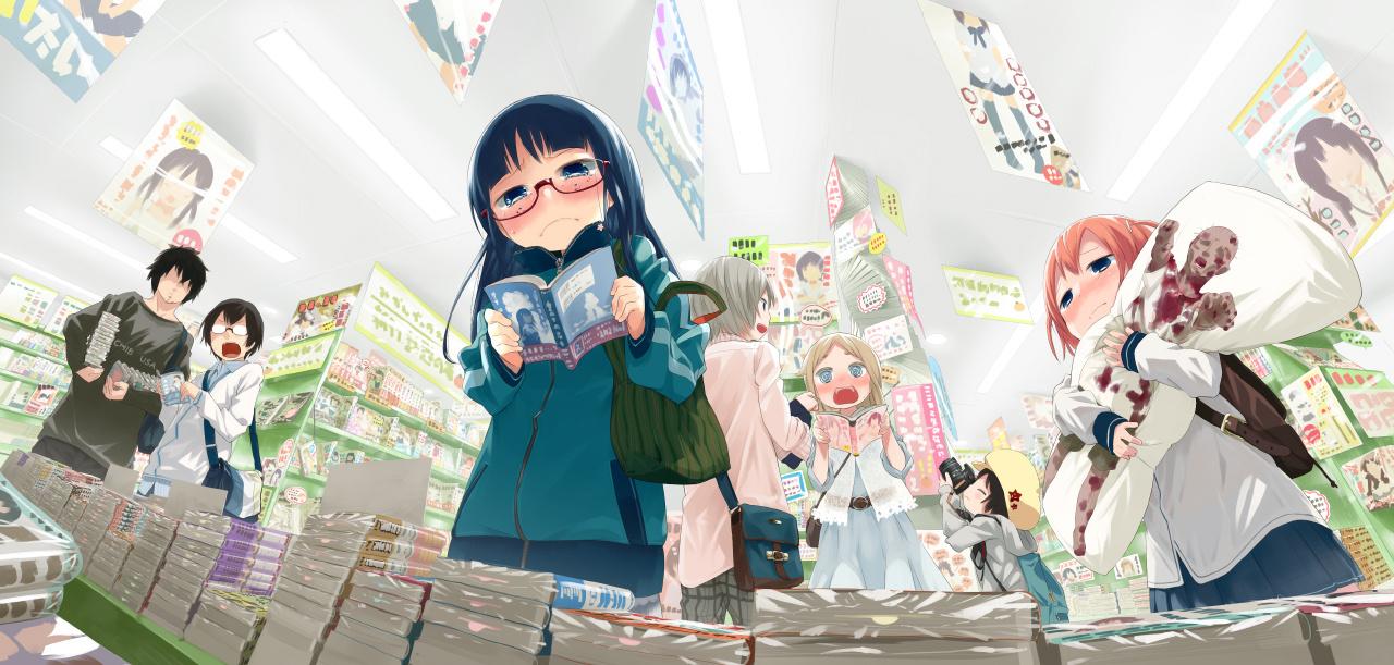 P站精选&软绵绵的香甜萌妹子!日本画师水あさと的插画作品-Zhaiuu.Com-宅尤尤