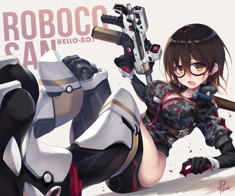 【P站画师】武器与少女!日本画师深井涼介的插画作品