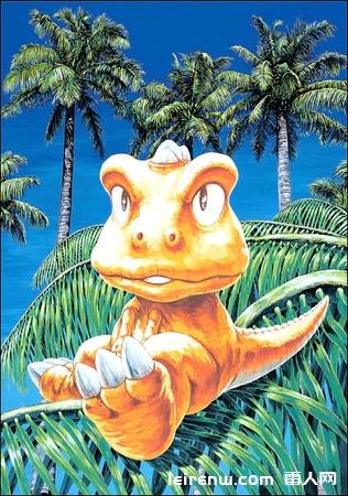 小恐龙《gon》漫画