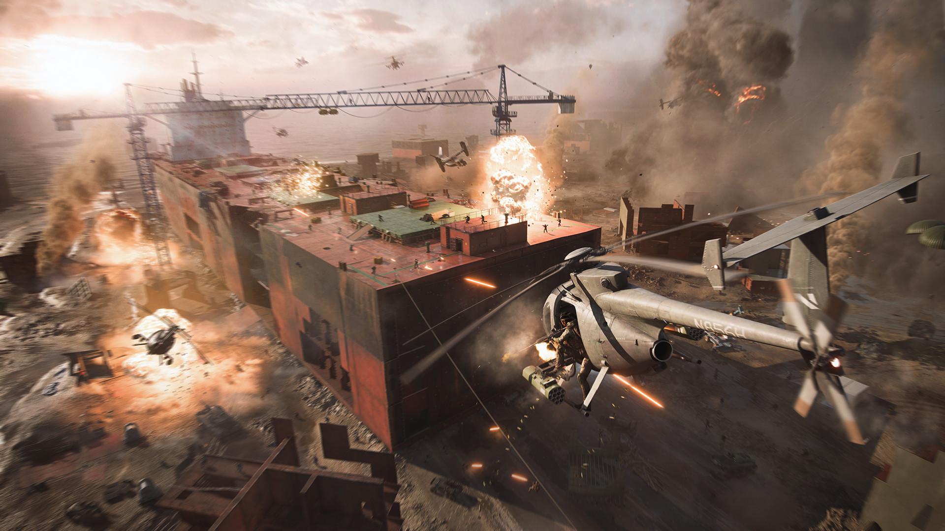 战地系列新作《战地2042》Steam开启预购 Steam 游戏资讯 第1张