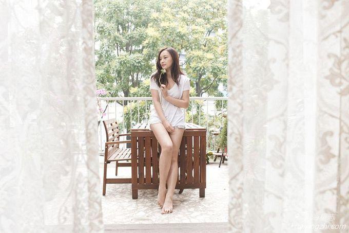 Jeannie Chan(陈滢)居家靓照8