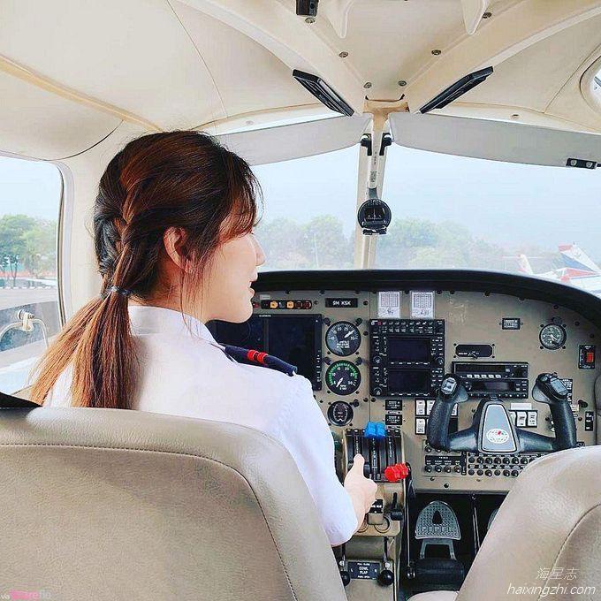 Astro国际华裔小姐的8强佳丽,大马超正女飞机师Cecilia方歆儿_9