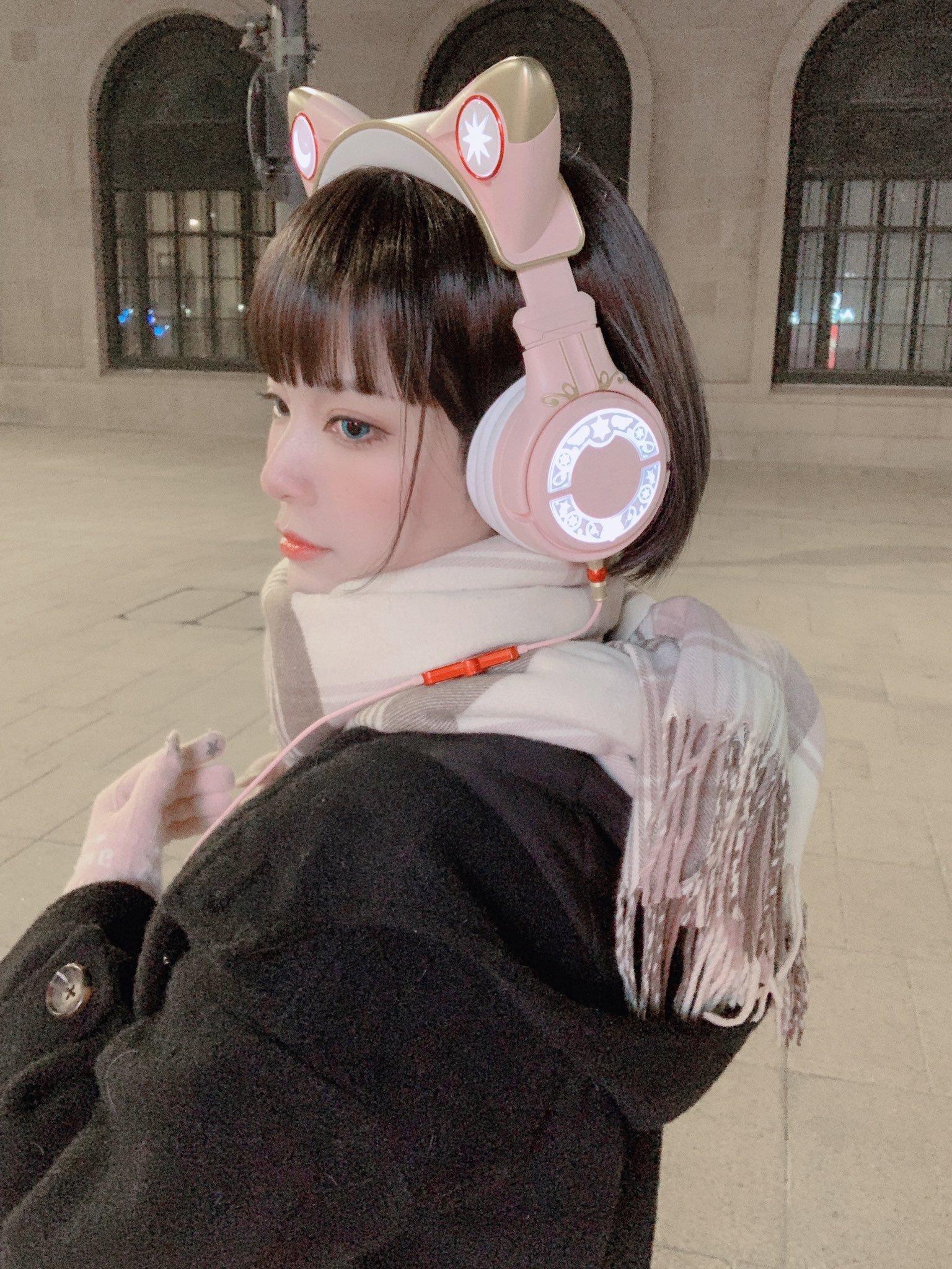 水着金发萝莉 猫耳耳机少女-COS精选二百一十九弹 动漫漫画 第27张