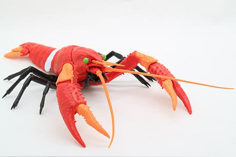 二号机 小龙虾模型