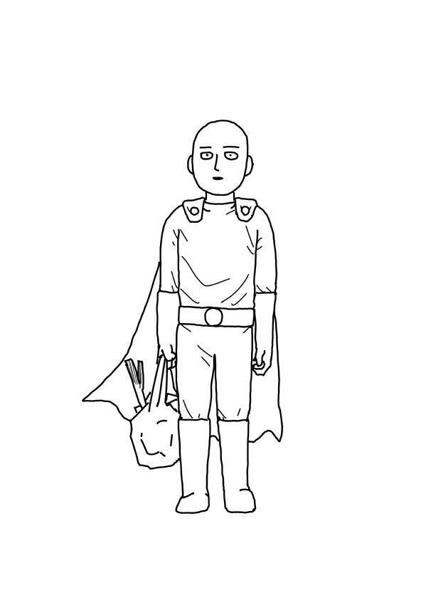 一拳超人 真人电影  ONE 寄语 贺图