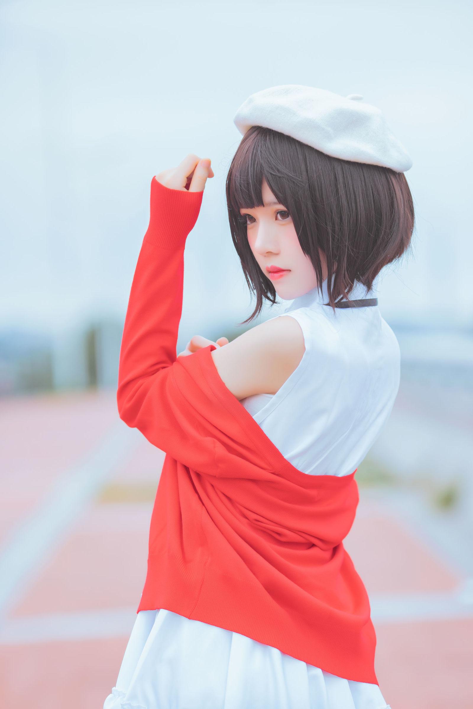 加藤惠 桜桃喵 COSPLAY11