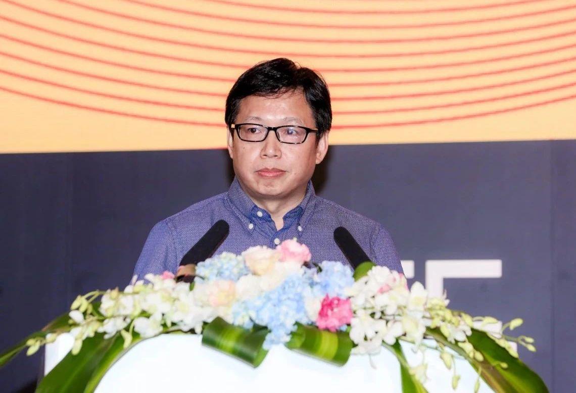 第十八届中国国际数字娱乐产业大会上 中宣部出版局副局长 冯士新