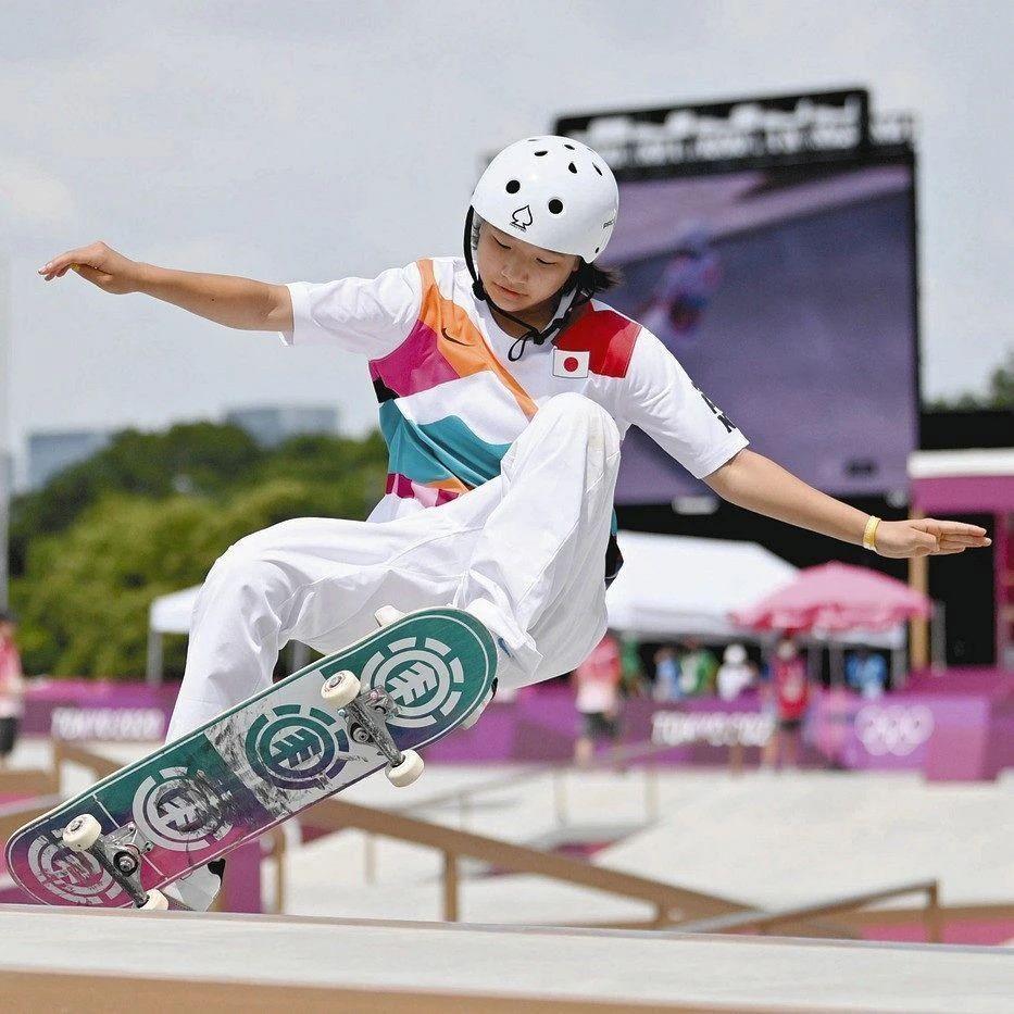 快乐元气的滑板少女西矢椛夺得奥运会冠军而逐渐改变日本人的刻板印象 (3)