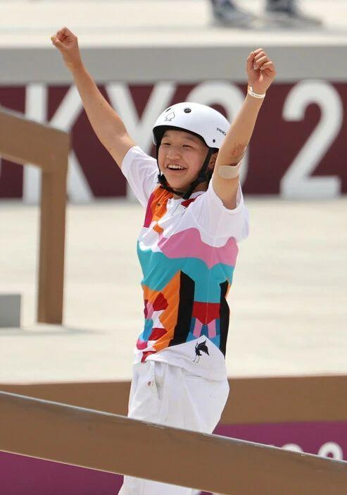 快乐元气的滑板少女西矢椛夺得奥运会冠军而逐渐改变日本人的刻板印象 (6)