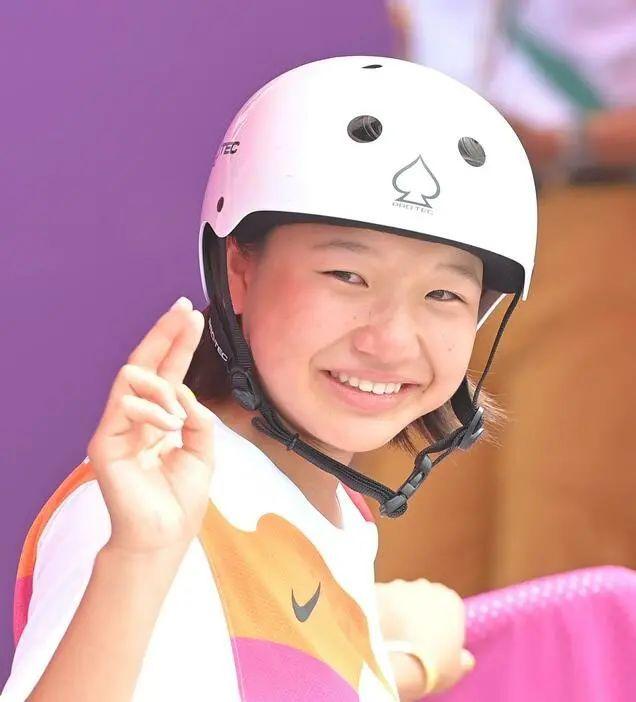 快乐元气的滑板少女西矢椛夺得奥运会冠军而逐渐改变日本人的刻板印象 (12)