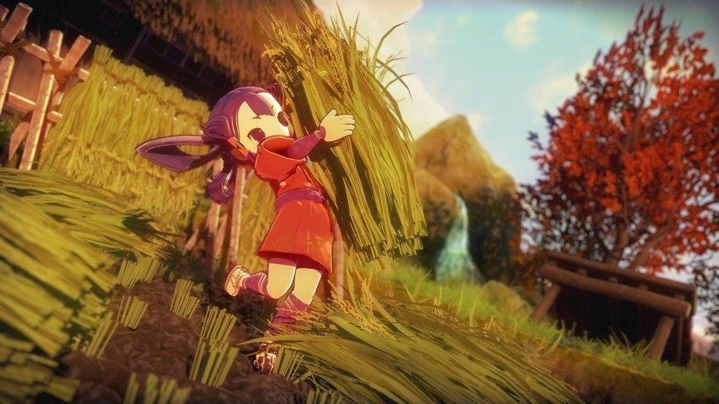 游戏《天穗之笑稻姬》一边种地一边疗愈身心的同时感受世间美景 (14)
