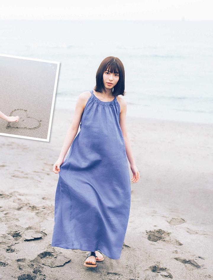 甜美怡人疗愈气息十足的纯爱系演员白石圣用自己强大的空灵气场来拍摄写真作品 (14)