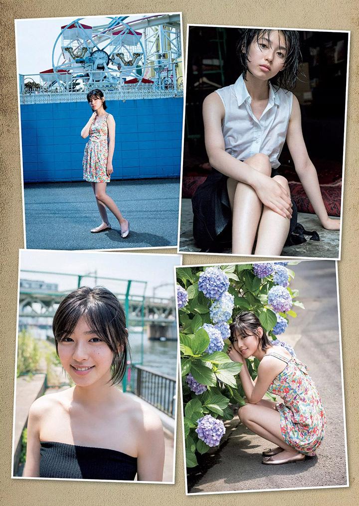 甜美怡人疗愈气息十足的纯爱系演员白石圣用自己强大的空灵气场来拍摄写真作品 (54)