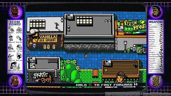 游戏《Retro City Rampage》让重回经典向骨灰级游戏致敬的体验保证有趣 (2)