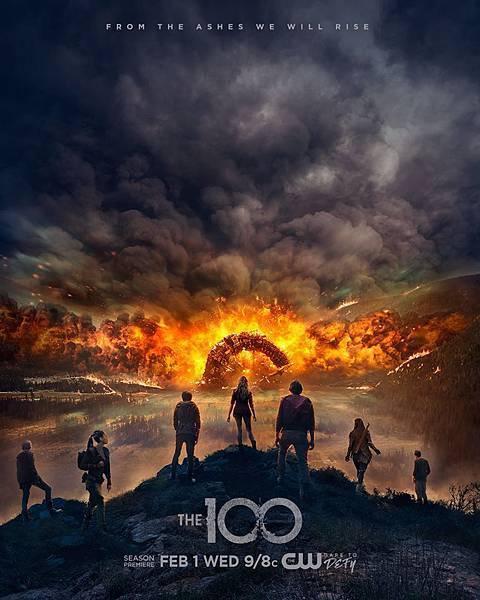 美剧《地球百子The 100》重返家园的地球之子 (1)