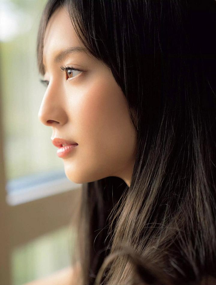 空气刘海可以让恶女变温柔的菜菜绪十分少见拍摄写真作品 (5)
