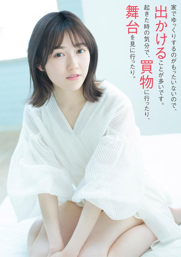 正统派偶像渡边麻友为音乐剧公演而拍摄写真作品大力宣传拉升人气 (6)