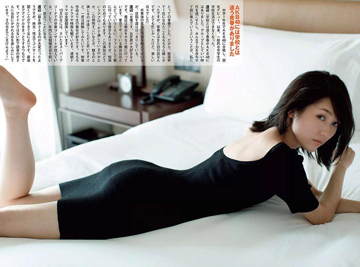 正统派偶像渡边麻友为音乐剧公演而拍摄写真作品大力宣传拉升人气 (25)