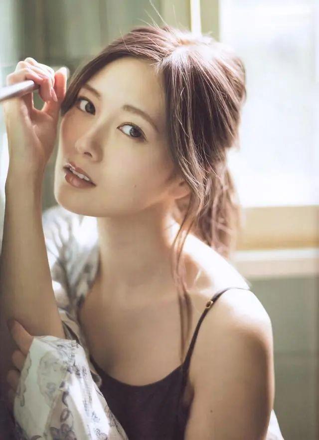 """被号称""""乃木坂第一美颜""""的白石麻衣写真作品 (9)"""