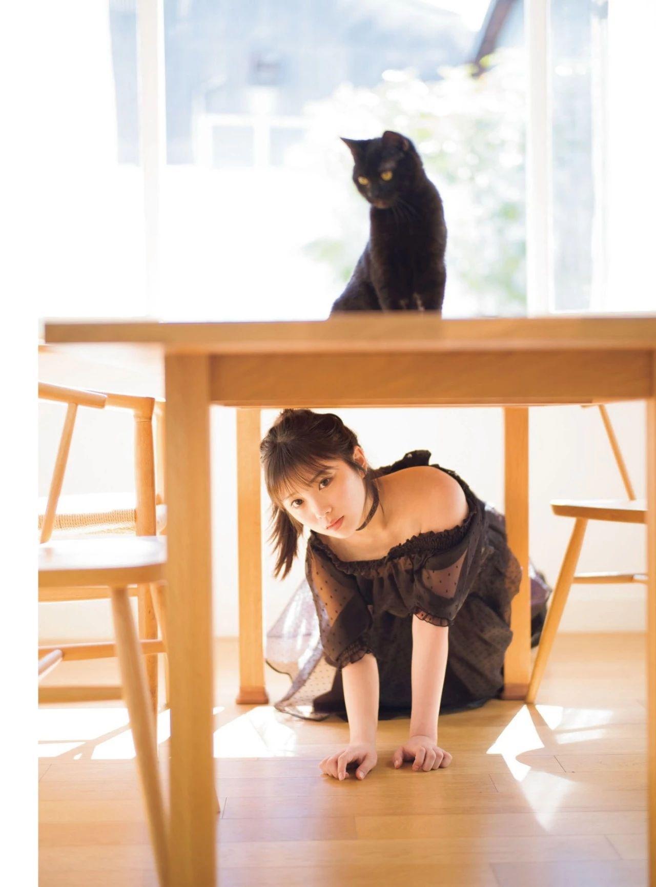 从小美到大的与田祐希《沉默的时间》写真作品 (3)