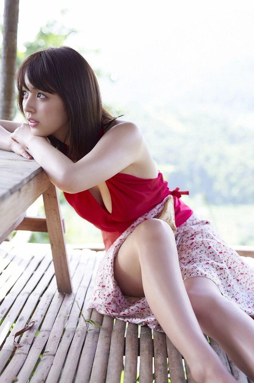 又欲又纯的封面女王柳百合菜写真作品 (8)