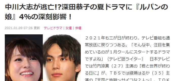 日本艺人深田恭子常年积劳成疾而被迫停止一切工作 (3)