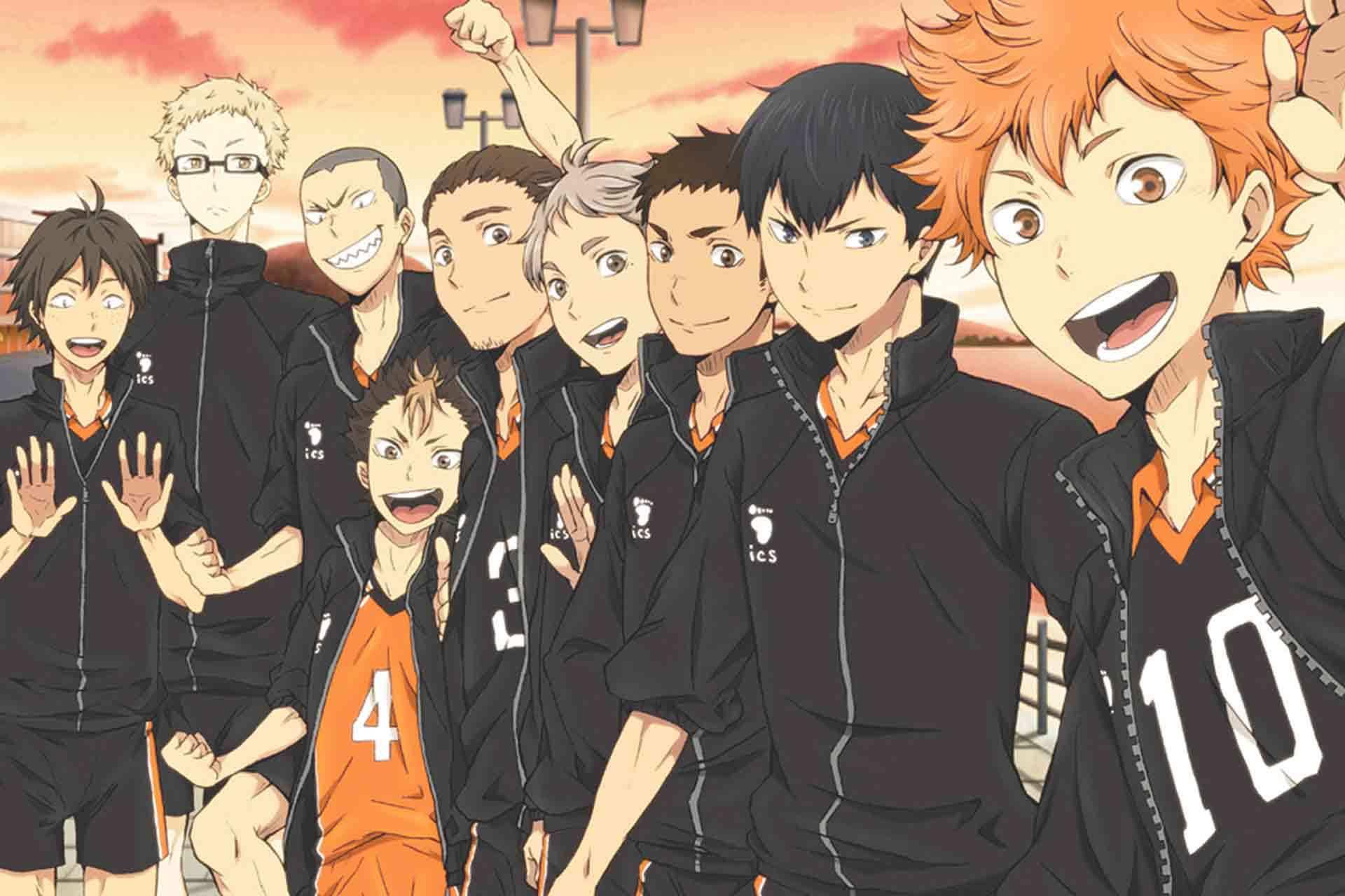 【漫画下载】《排球少年!!》全402话-Anime漫趣社