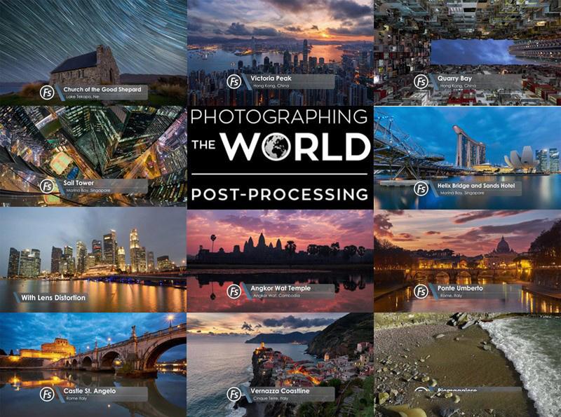 摄影教程_Fstoppers-Elia Locardi世界城市景观星轨风光摄影及后期-中英字幕 摄影教程 _预览图2
