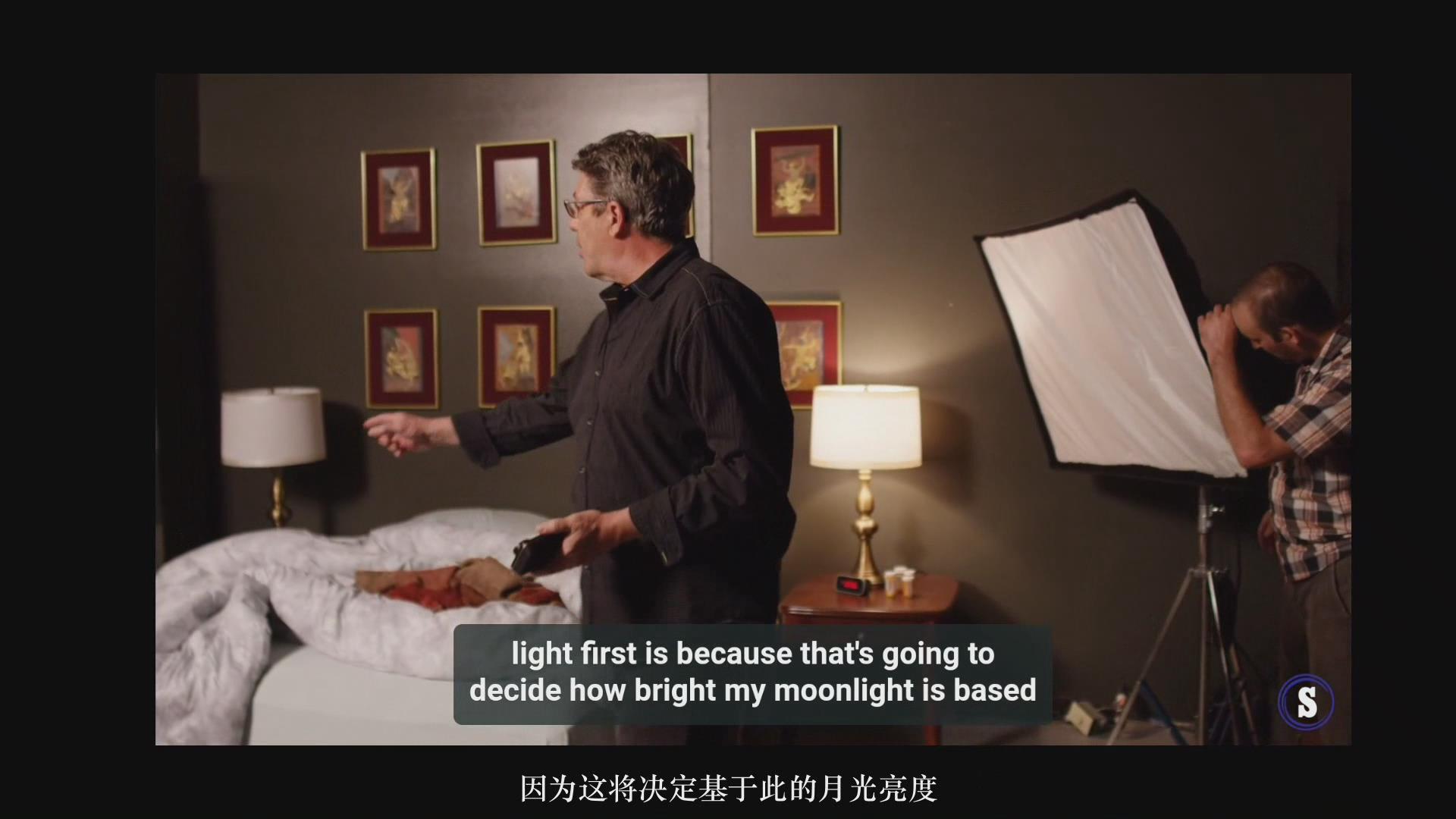 摄影教程_Hurlbut Academy–如何为电影在夜景室内场景布光营造自然外观-中文字幕 摄影教程 _预览图6
