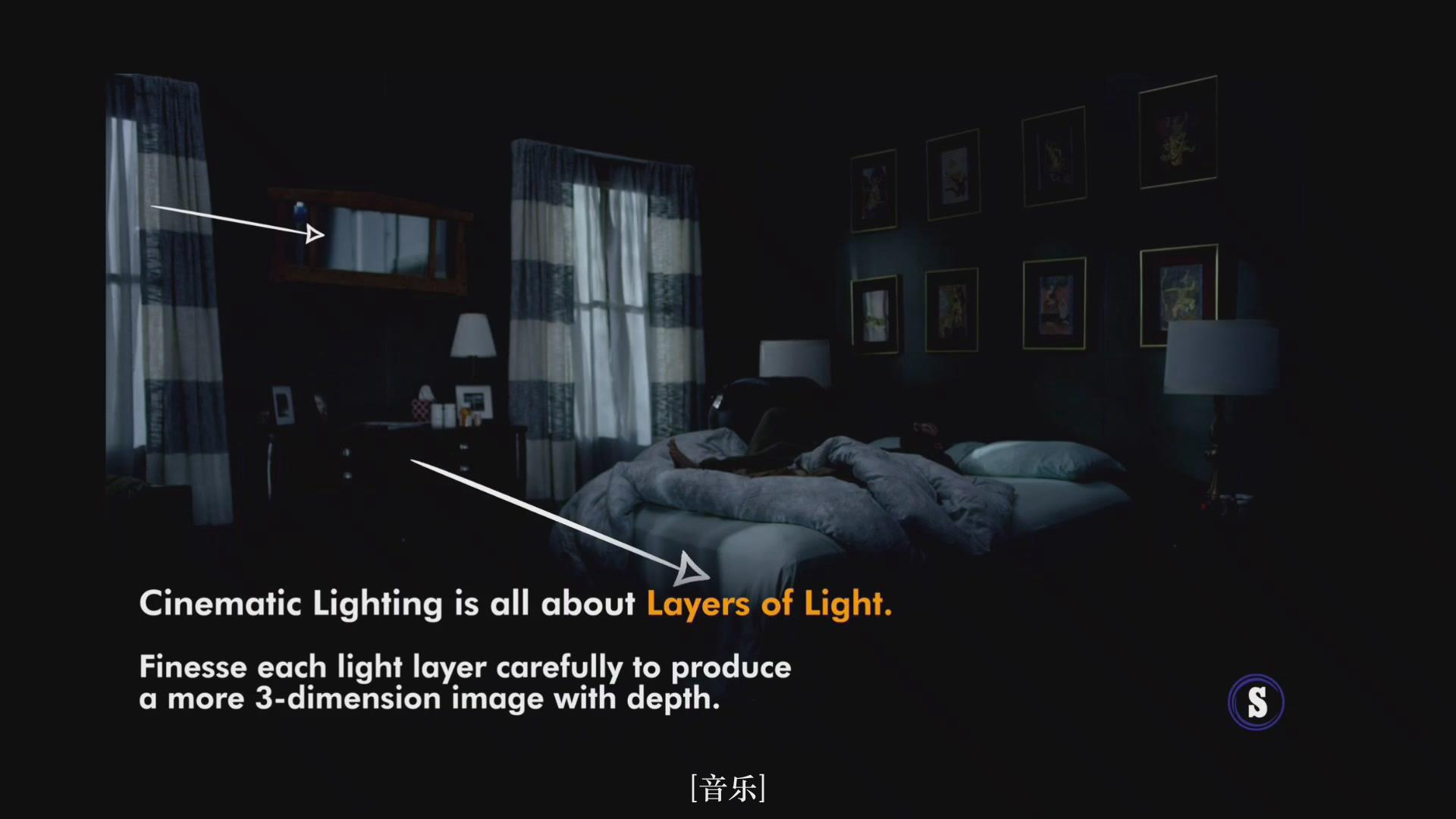 摄影教程_Hurlbut Academy–如何为电影在夜景室内场景布光营造自然外观-中文字幕 摄影教程 _预览图14