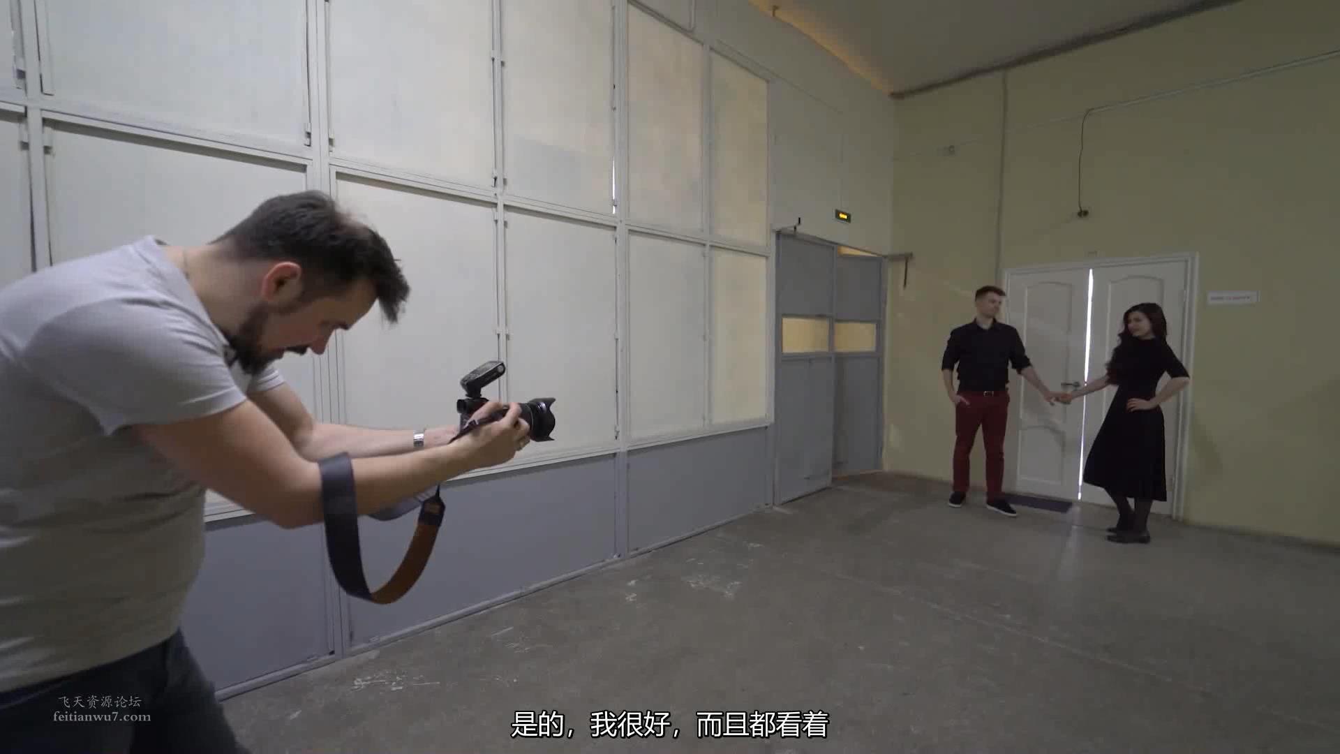 摄影教程_Alexey Gaidin实践30多种人造光闪光灯摄影布光教程-中文字幕 摄影教程 _预览图15