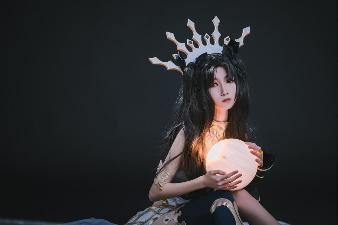 妖君白研 - NO.12 FATEGRAND ORDER场照漫展COS梅尔特莉莉丝FGO泳着 (3)