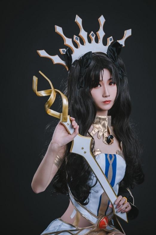 妖君白研 - NO.12 FATEGRAND ORDER场照漫展COS梅尔特莉莉丝FGO泳着 (5)