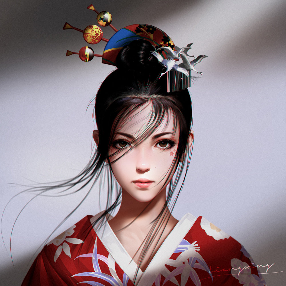 p站画师梁星liangxing 2019年9-10月插画欣赏