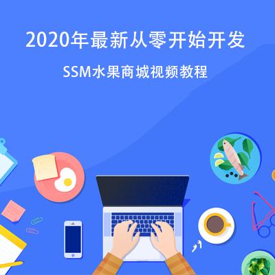 2020 年最新 SSM 水果商城网站开发课程