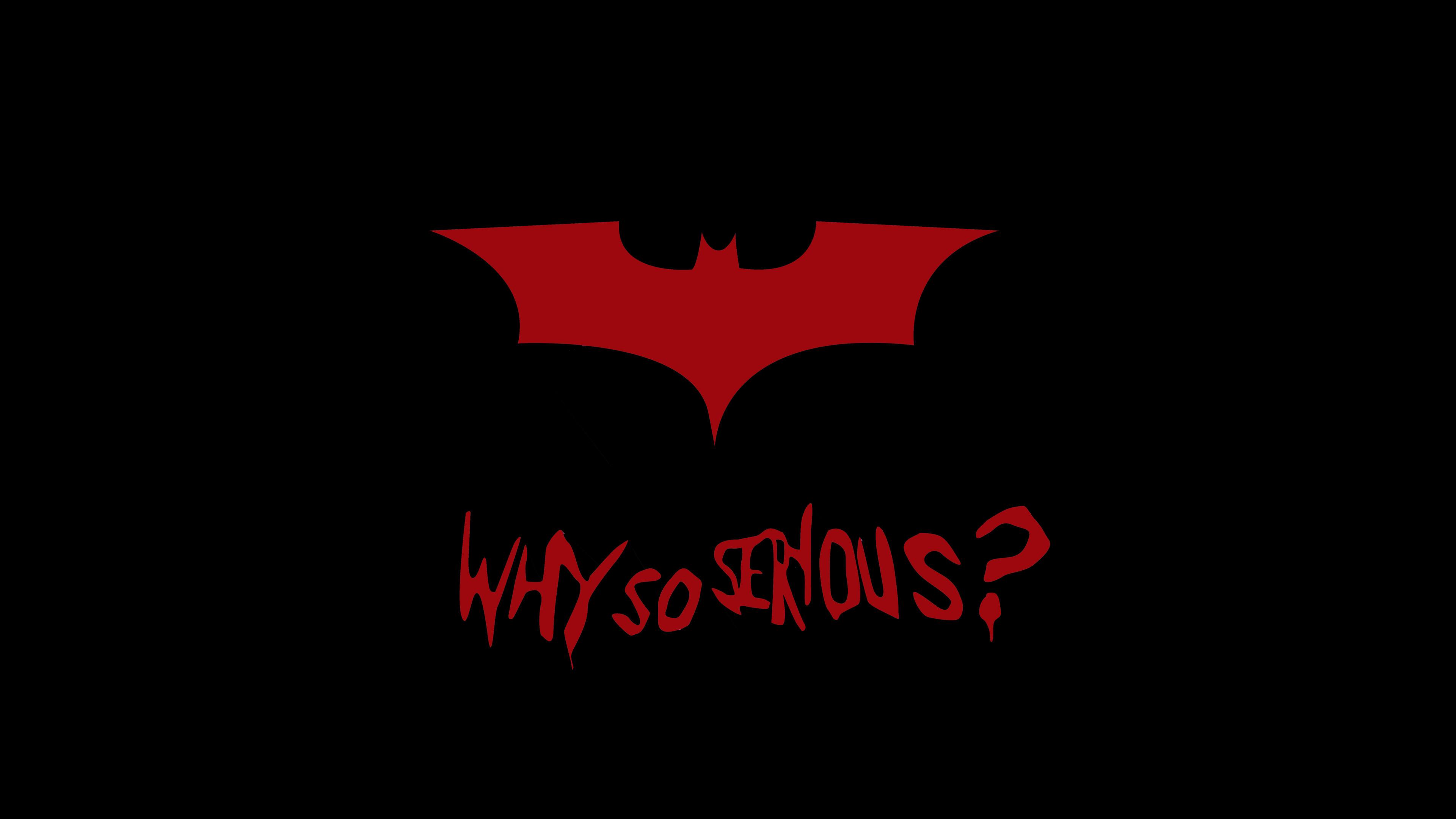 蝙蝠侠极简4k壁纸