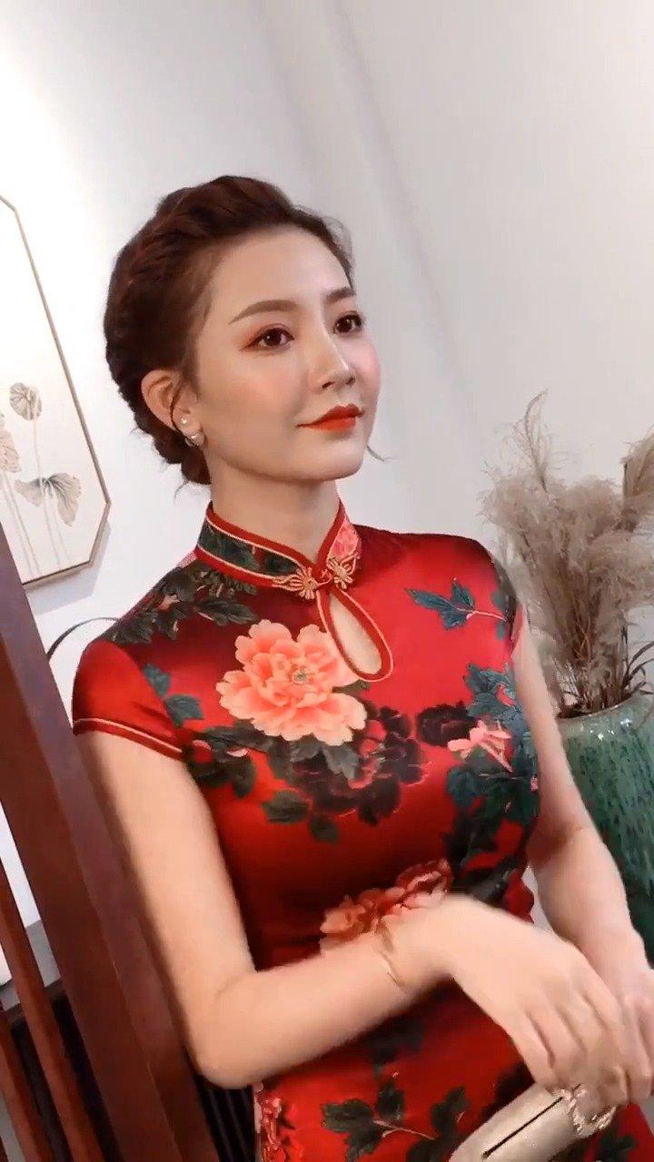 旗袍是真的美