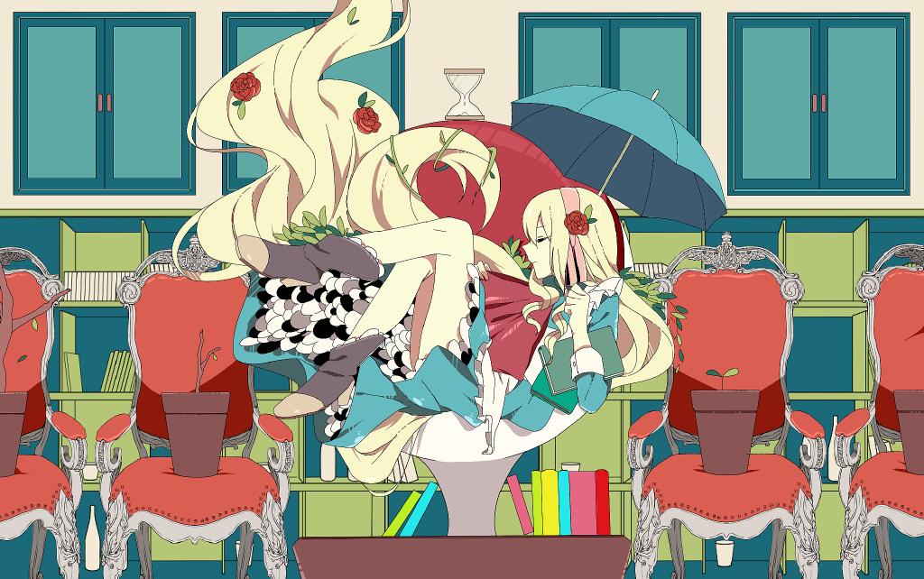 【P站画师】独特的风格,日本画师葛坊煽的插画作品