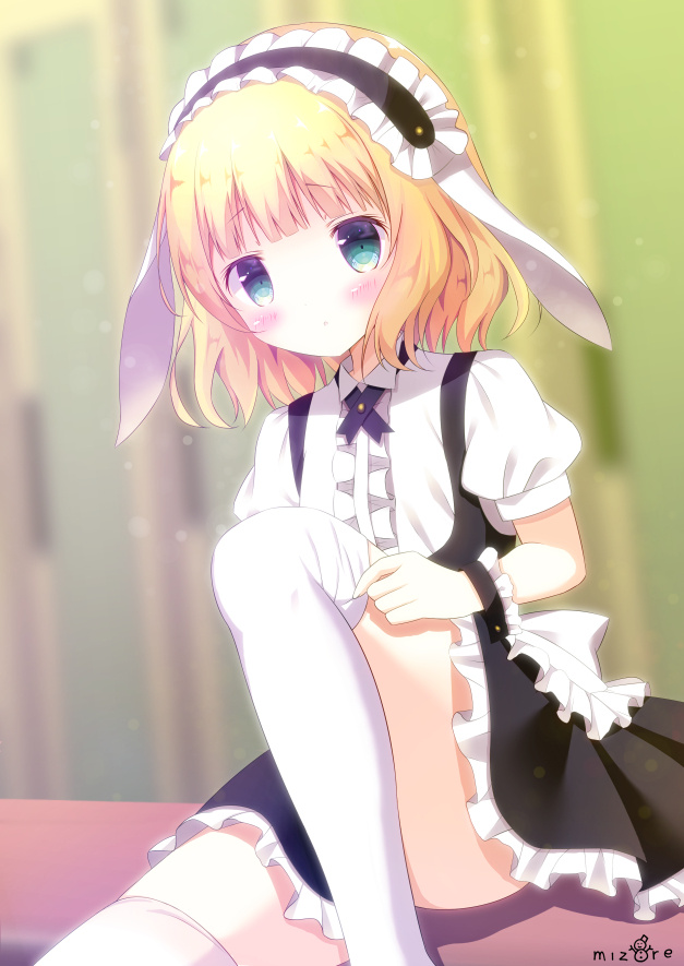 P站精选&《请问您今天要来点兔子吗?》桐间纱路壁纸特辑-Zhaiuu.Com-宅尤尤
