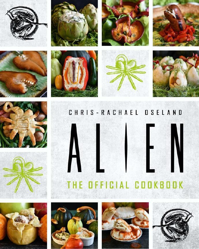 异形出了一本官方烹饪手册,脑洞很大