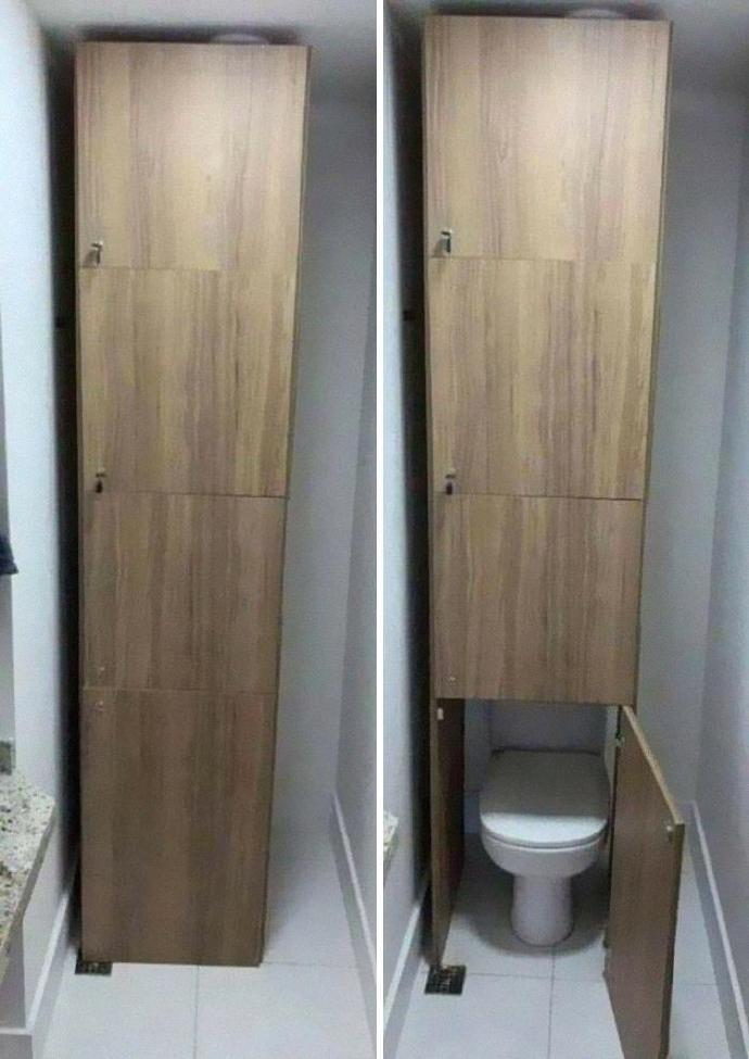 一些天才卫生间设计
